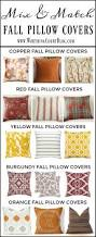 Fall Decorative Pillows - simple is good my favorite easy fall decorating ideas worthing