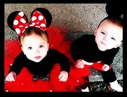 Minnie Mouse Halloween Costume Toddler Minnie Mouse Mickey Mouse Costumes Twins Halloween
