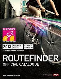 si ge v lo b b hamax eurobike 2013 routefinder by messe friedrichshafen gmbh issuu