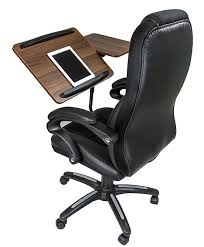 Office Chair Desk Here S An Office Chair That Serves As A Desk The Gadgeteer