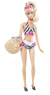 barbie doll celebrates her 50th birthday with souvenir 3 bathing
