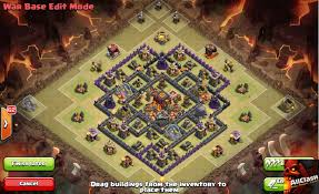Coc Map Base Maps Coc Th8 2016 1 1 Apk Download Android Entertainment Apps