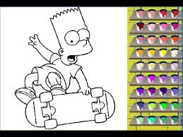 simpson coloring pages coloring pages for kids youtube