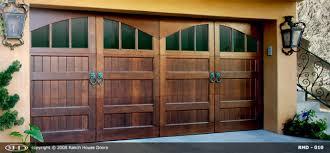 Wood Overhead Doors Residential Garage Door Manufacturers Custom Wooden Garage Doors