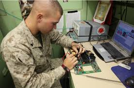 Laptop Repair Technician Ccrs Marines Break 100k In Equipment Repair Savings U003e 2nd Marine