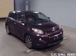 2009 toyota ist purple for sale stock no 42457 japanese used