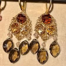 smoky quartz earrings 66 swarovski jewelry nordstrom s swarovski smoky quartz