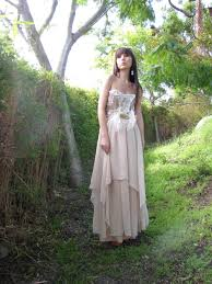 Whimsical Wedding Dress Eco Country Chic Couture Whimsical Wedding Dress Cgheaven