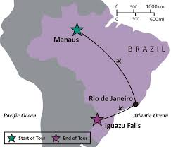 Map Of Rio De Janeiro Sights And Soul Travels Brazil The Amazon Rio And Iguazu Falls