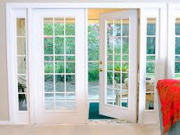 window treatments french doors kitchen traditional with none