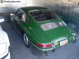 1966 porsche 911 value two green early porsches for sale st s day