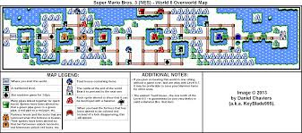 Super Mario World Map by Super Mario Bros 3 World 6 Overworld Map For Nes By Keyblade999