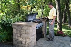 Backyard Bbq Grill Company How To Build Bbq Grilling Station Backyard Outdoor Living