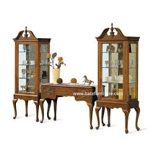 Indonesian Bedroom Furniture by Queen Anne Display Cabinet Indonesian French Furniture Teak