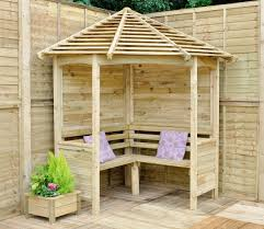 arbor with bench free plans bench decoration