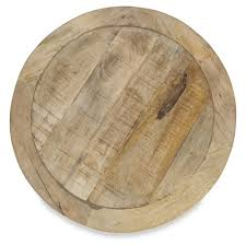 circle wood coffee table natural thor round jute and mango wood coffee table temple