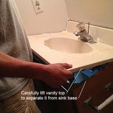 How To Change Bathroom Vanity Here Is How To Remove An Bathroom Vanity Bathroom Vanities