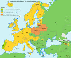 Map Of Europe 1942 by Etymology Map For
