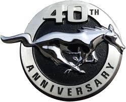 40th year anniversary mustang timeline 2004 mustang the mustang source