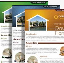 real estate flyer examples 16 great real estate flyer templates u2013 design freebies