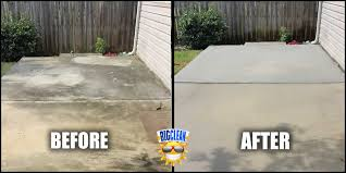Cleaning Patio With Pressure Washer Concrete Cleaning Charlotte Power Washing Nc Big Clean