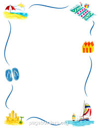 free summer borders clip art page borders and vector graphicsfree