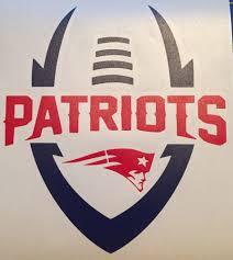patriots decal custom sticker 5 5