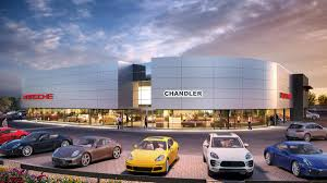 porsche showroom new porsche dealership to open in chandler phoenix business journal