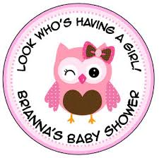 owl baby girl shower decorations delightful design pink owl baby shower splendid ideas personalized