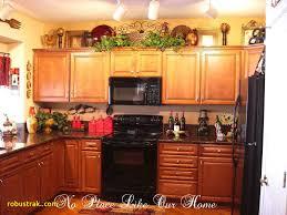 unique top of kitchen cabinet decor home design ideas