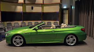 java green bmw bmw abu dhabi showcases java green 650i convertible