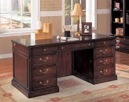 office desk interior light brown wooden corner desk with drawers