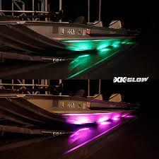 led boat trailer lights 12pc premium boat trailer runway light waterproof multi color remote