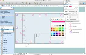symbols picturesque design software electronic drawing with