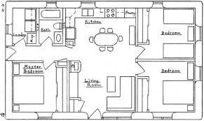 plan de maison avec cuisine ouverte maison de plain pied avec 3 chambres et une cuisine américaine
