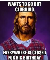 Christmas Birthday Meme - jesus christmas meme fishwolfeboro