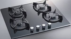Frigidaire Downdraft Cooktop Rustic Ceramic Glass Cooktop And Cast Iron Skillet Ceramic Glass