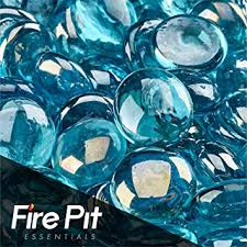 Firepit Glass Aqua Blue Glass Firepit Glass 10