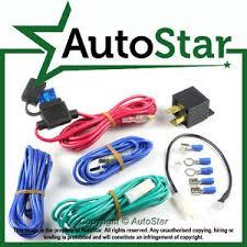 12v fused light wiring kit inc relay universal spotlamps spot