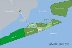 galveston island map galveston island area neighborhoods subdivisions galveston