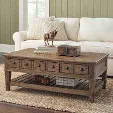 Sofa Table With Drawers Derrickson Coffee Table With Drawers U0026 Reviews Birch Lane