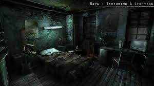 the room lighting and texture challenge by ninjitsunami on