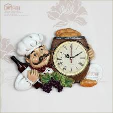 personalized picture clocks kitchen clocks personalized restaurant resin vintage wall clock