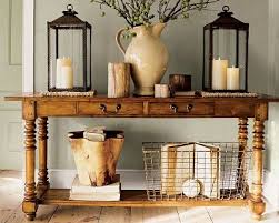 Entryway Table With Baskets The Of Arranging Vignettes Sofa Tables Entryway Tables And