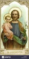 religion christianity saint saint joseph holding the infant