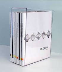 clear acrylic desk organizer clear acrylic desktop letter holder or acrylic desktop organizer