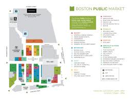 Garden State Plaza Map by Boston Public Market