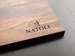 cutting board engraved personalized letter wedding favors and gifts custom engraved