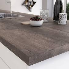 plan de travail cuisine stratifié leroy merlin plan de travail stratifié planky brun mat l 315 x p 65 cm ep 38