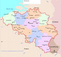 map belguim belgium political map mapsof net